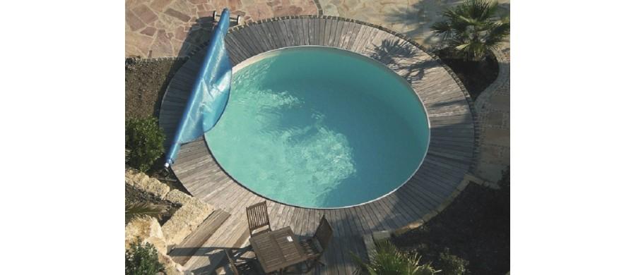 Milano H 120 - Piscine Interrate Rotonde da Giardino - Poolmaster