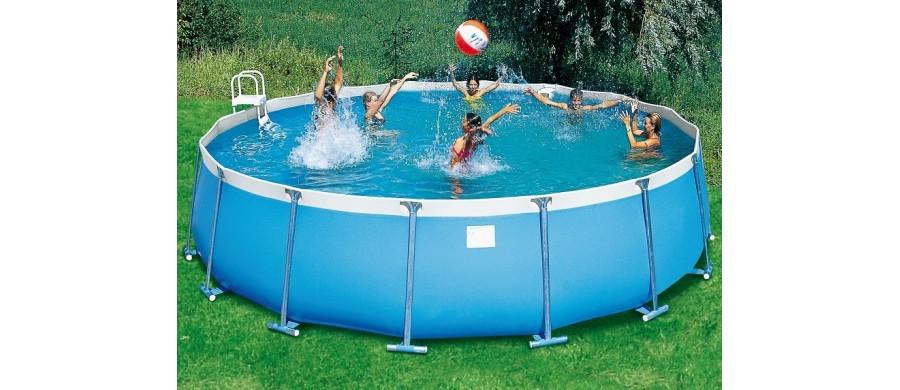 Milos - Piscine Rotonde: I Modelli Fuori Terra Da Giardino – Poolmaster