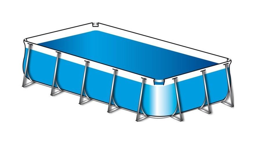 Vasche di Ricambio Piscine in PVC, Lamiera e Legno - Poolmaster